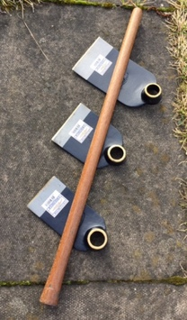 Set of 3 Small Digging Hoes.